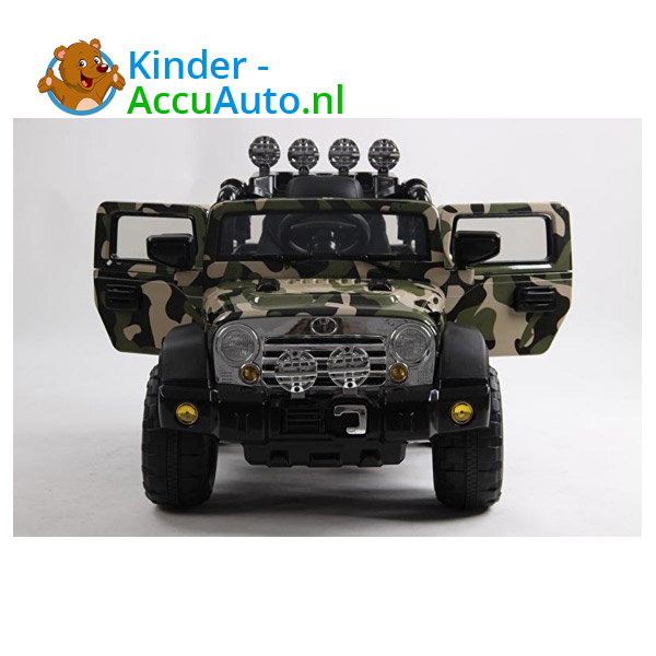 Army Jeep Camoflage kinderauto 3