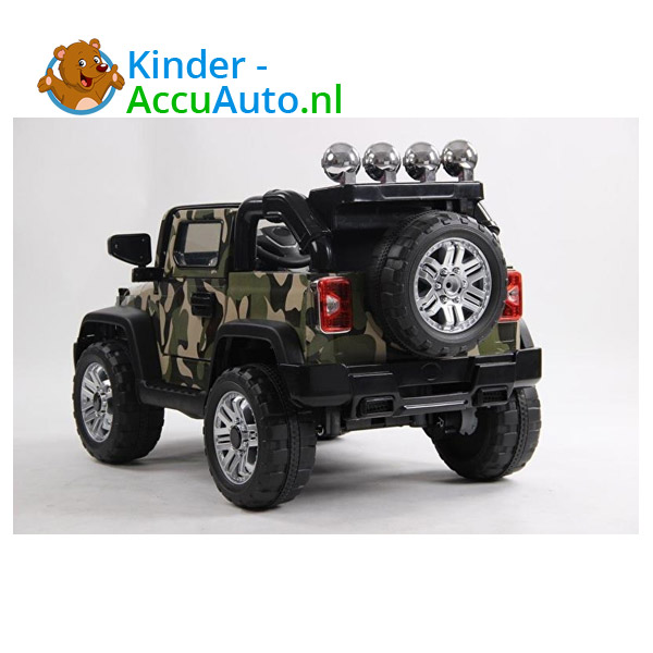 Army Jeep Camoflage kinderauto 4