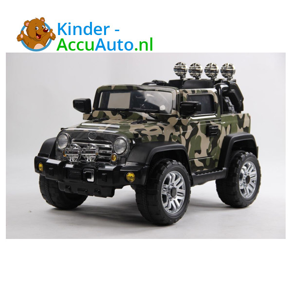 Army Jeep Camoflage kinderauto 5
