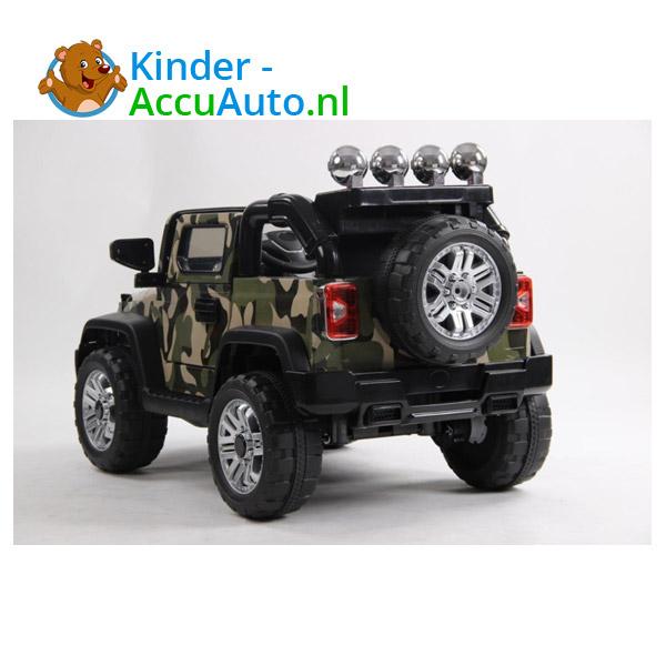 Army Jeep Camoflage kinderauto 7