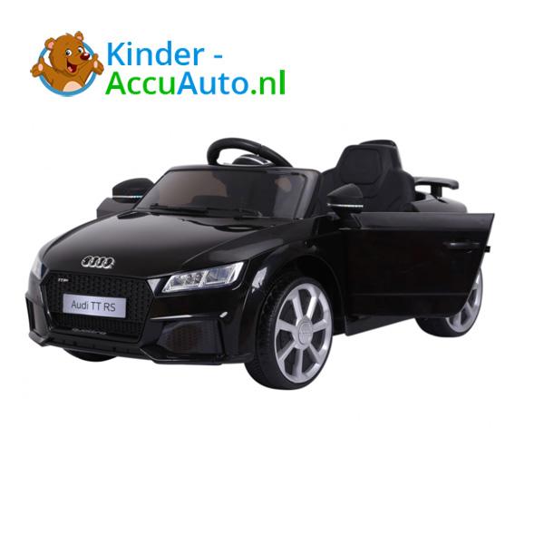 Audi TTRS Zwart Kinderauto 1