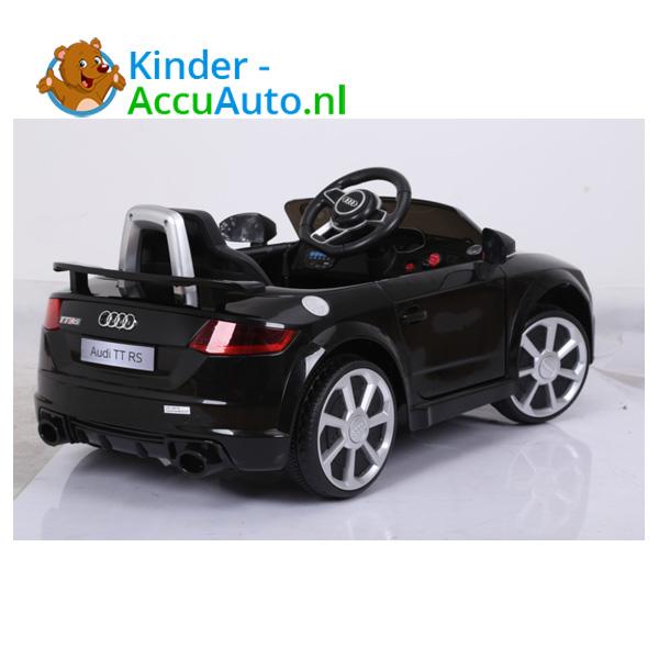 Audi TTRS Zwart Kinderauto 10