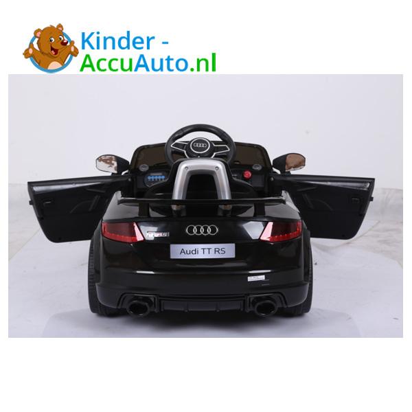 Audi TTRS Zwart Kinderauto 11