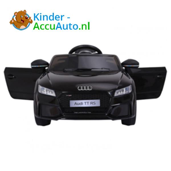 Audi TTRS Zwart Kinderauto 2