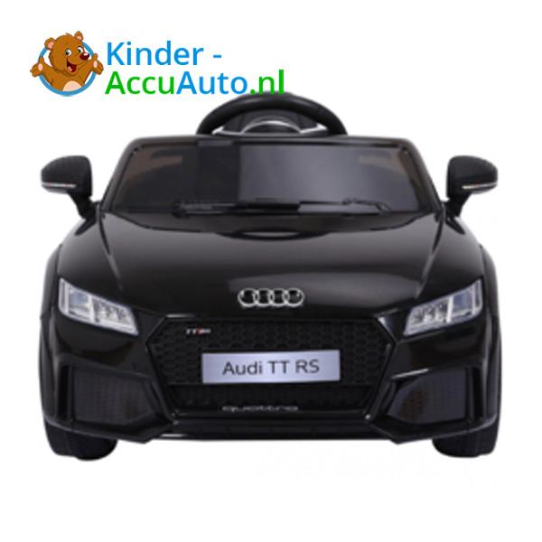 Audi TTRS Zwart Kinderauto 4