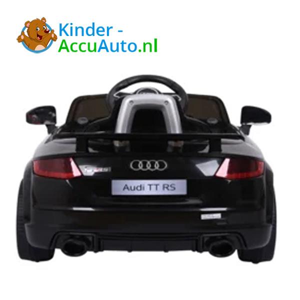 Audi TTRS Zwart Kinderauto 5