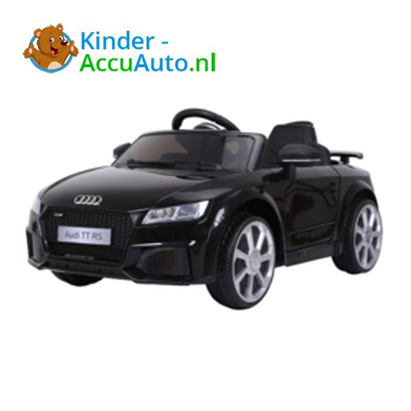 Audi TTRS Zwart Kinderauto 6