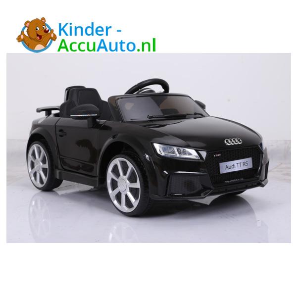 Audi TTRS Zwart Kinderauto 8