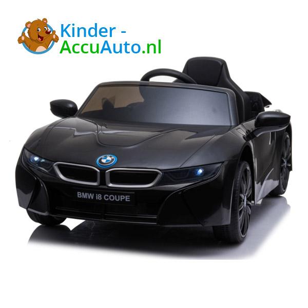 BMW i8 Zwart Kinderauto 1