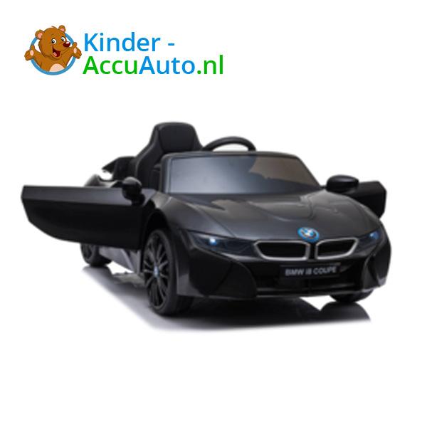 BMW i8 Zwart Kinderauto 10