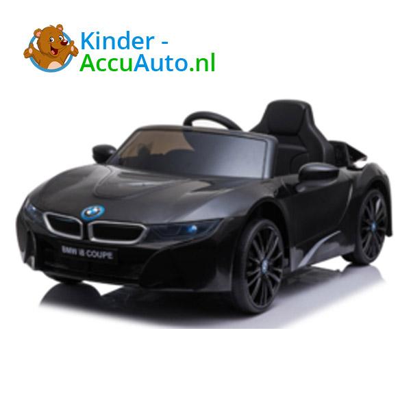 BMW i8 Zwart Kinderauto 2