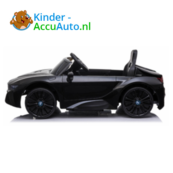 BMW i8 Zwart Kinderauto 4
