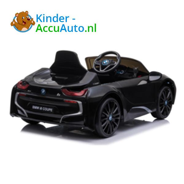 BMW i8 Zwart Kinderauto 7