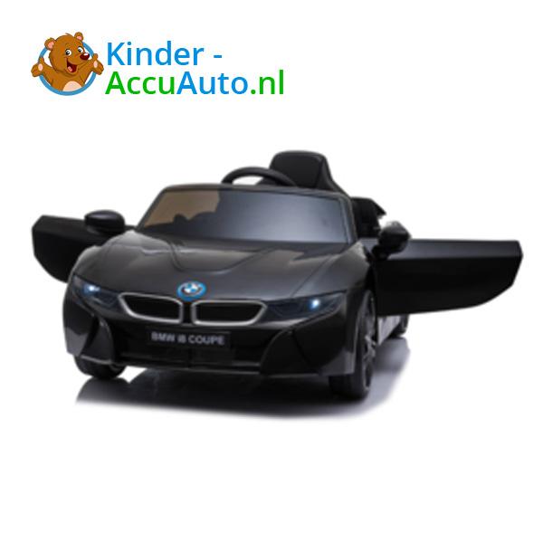 BMW i8 Zwart Kinderauto 8