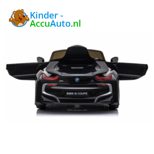 BMW i8 Zwart Kinderauto 9