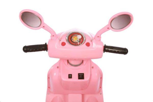 6V Retro Elektrische Kinderscooter Roze