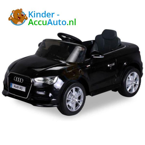 Audi A3 Kinderauto Zwart 1
