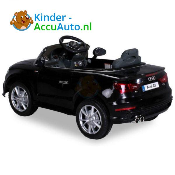Audi A3 Kinderauto Zwart 10