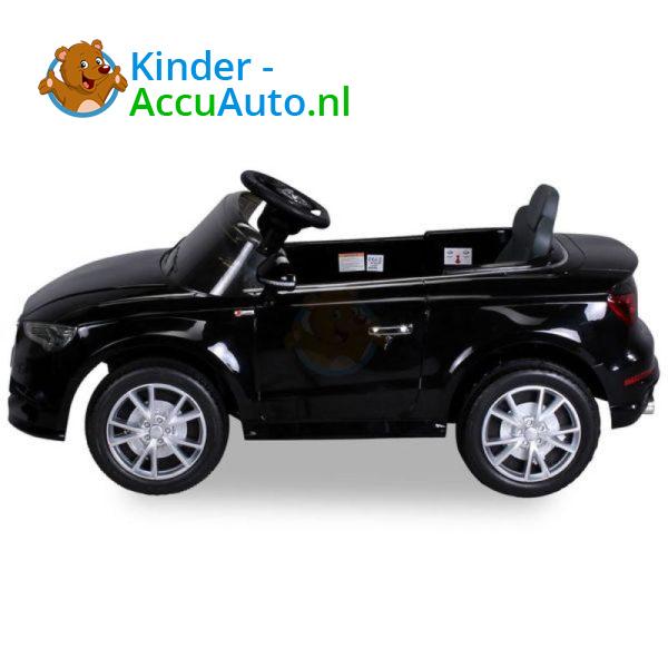 Audi A3 Kinderauto Zwart 2