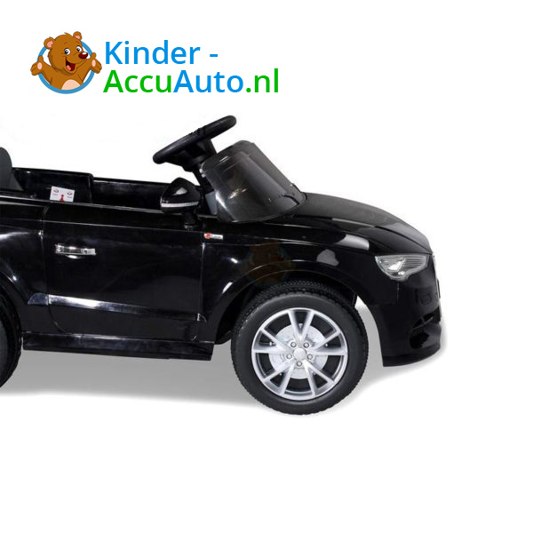 Audi A3 Kinderauto Zwart 5