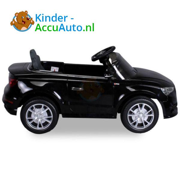 Audi A3 Kinderauto Zwart 8