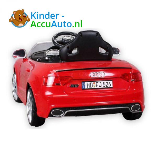 Audi RS5 Kinderauto Rood 2