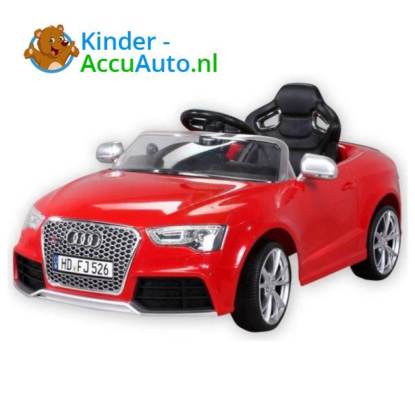 Audi RS5 Kinderauto Rood 3