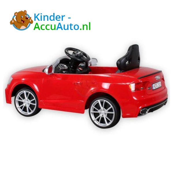 Audi RS5 Kinderauto Rood 5
