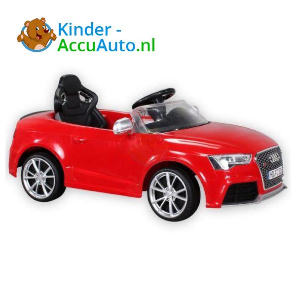 Audi RS5 Kinderauto Rood 6