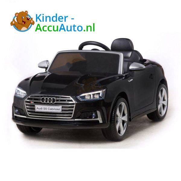 Elektrische Kinderauto Audi S5 Zwart 2