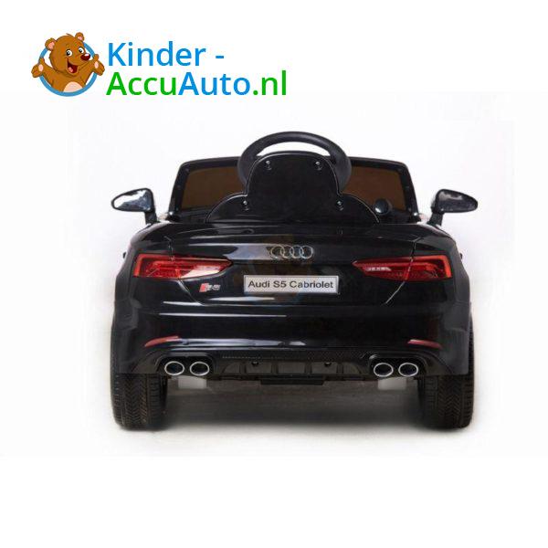 Elektrische Kinderauto Audi S5 Zwart 6
