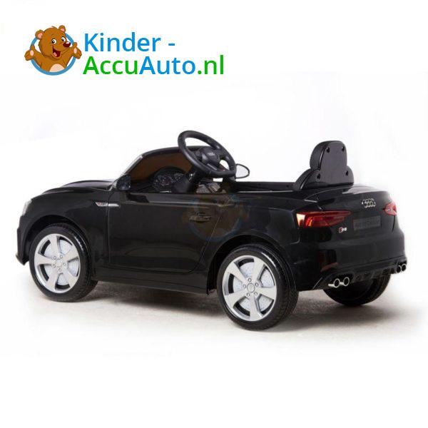 Elektrische Kinderauto Audi S5 Zwart 7