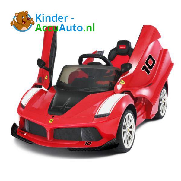 Ferrari FXX-K Kinderauto Rood 1
