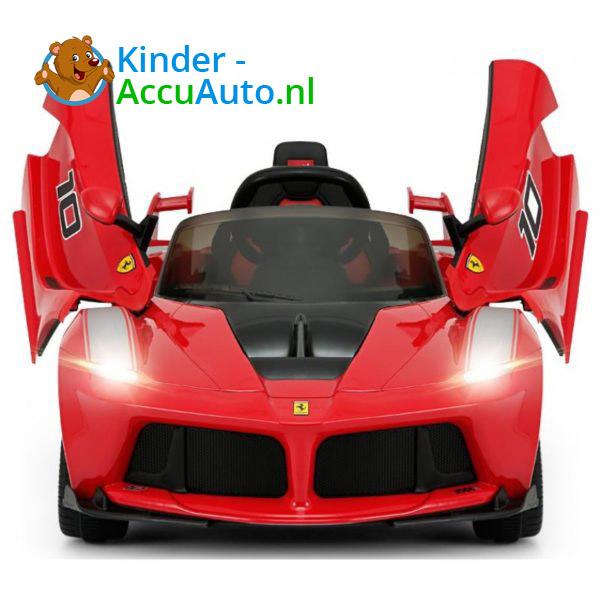 Ferrari FXX-K Kinderauto Rood 3