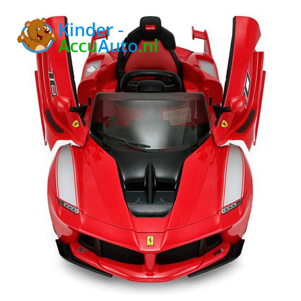 Ferrari FXX-K Kinderauto Rood 7