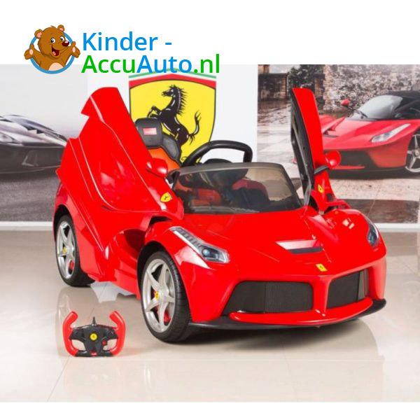Ferrari LaFerrari Kinderauto Rood 2