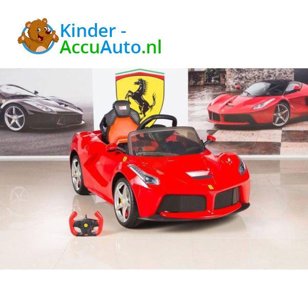 Ferrari LaFerrari Kinderauto Rood 5