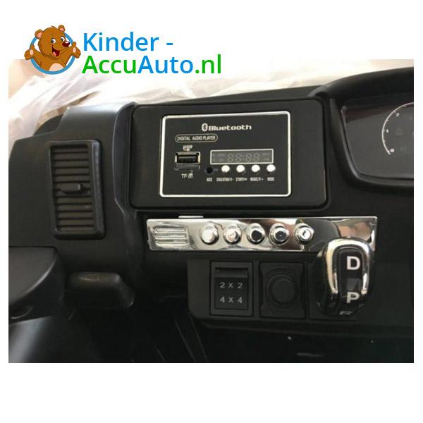 Ford Ranger Monster Truck Kinderauto Zwart 8