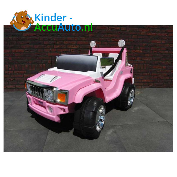 Jeep Kinderauto 2 Persoons Roze 2