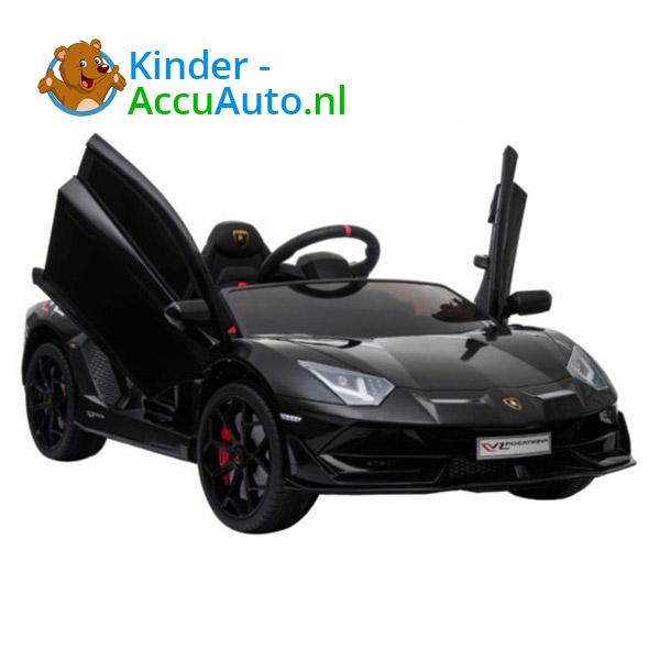 Lamborghini SVJ Kinderauto Zwart 1
