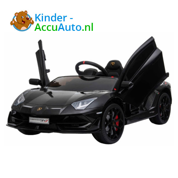 Lamborghini SVJ Kinderauto Zwart 2