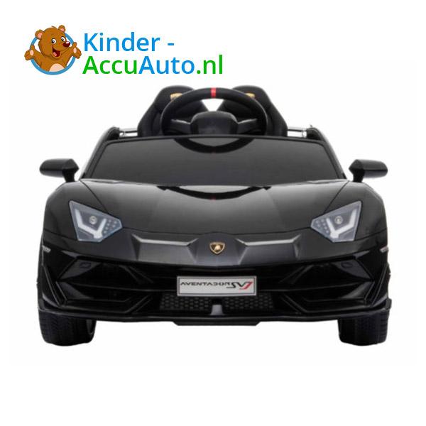 Lamborghini SVJ Kinderauto Zwart 3