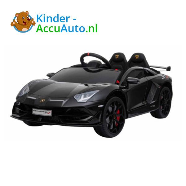 Lamborghini SVJ Kinderauto Zwart 4