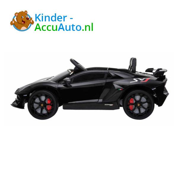 Lamborghini SVJ Kinderauto Zwart 5