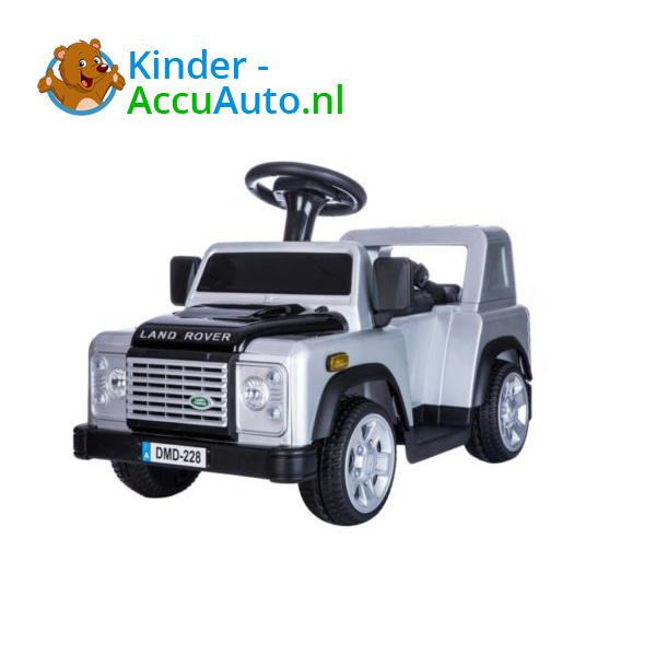 Land Rover Defender 110 Kinderauto Grijs 3