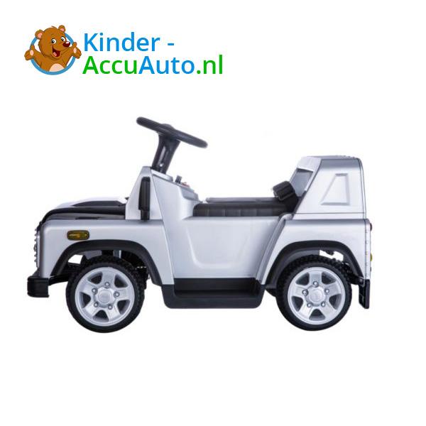 Land Rover Defender 110 Kinderauto Grijs 4