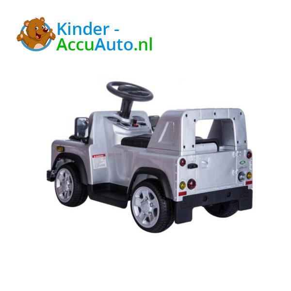 Land Rover Defender 110 Kinderauto Grijs 5