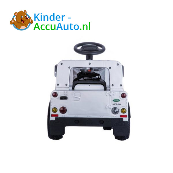 Land Rover Defender 110 Kinderauto Grijs 6