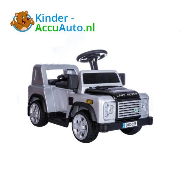Land Rover Defender 110 Kinderauto Grijs 7