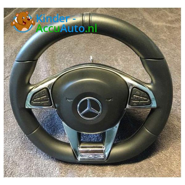 Mercedes C63 S kinderauto Zwart 5